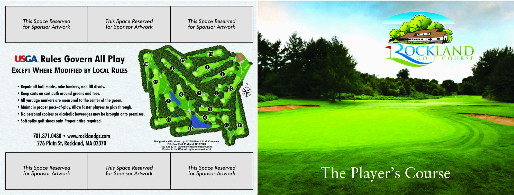 Scorecard & Course Tour - Rockland Golf Course on golf course layout maps, golf green maps, golf courses map of us, golf yardage book,